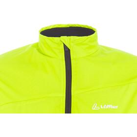 Löffler Pace Primaloft Next Chaleco ciclismo Hombre, amarillo